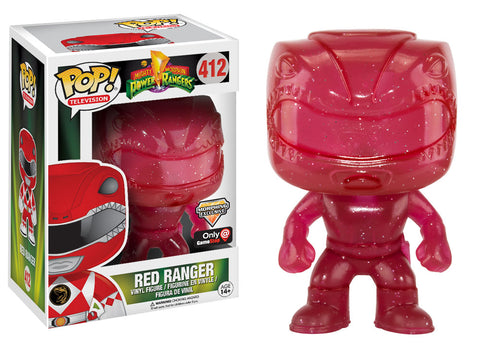 Funko Pop! Television: Power Rangers Morphing Red Ranger #412 Gamestop Exclusive