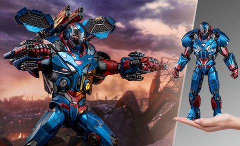 PRE-ORDER: Hot Toys Iron Patriot Sixth Scale Figure