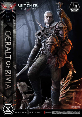 PRE-ORDER: Prime 1 Studio Museum Masterline The Witcher 3: Wild Hunt Geralt of Rivia Statue