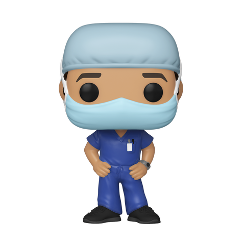Funko Pop! Heroes: Front Line Worker- Male #1