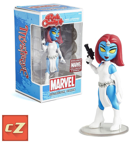 Funko Rock Candy Marvel Mystique Collector Corps Exclusive *New In Box* - CollectorZown