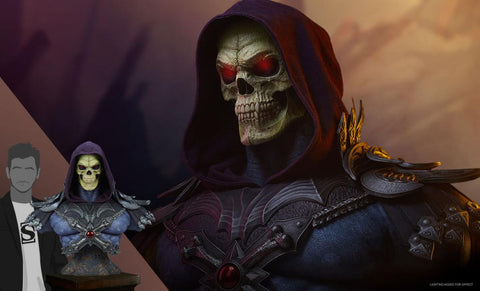 PRE-ORDER: Tweeterhead Masters of the Universe Skeletor Legends Life-Size Bust