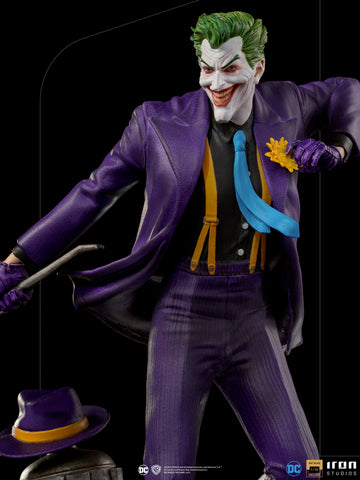 PRE-ORDER: Iron Studios The Joker Deluxe Art Scale 1/10 Statue