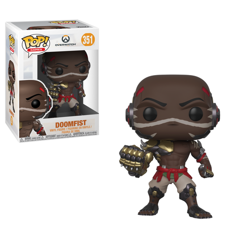 PRE-ORDER: Funko Pop! Games: Overwatch - Doomfist #351 - CollectorZown