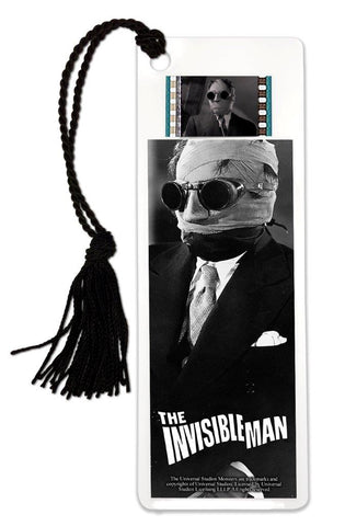 Filmcells Universal Monsters The Invisible Man Horror Bookmark