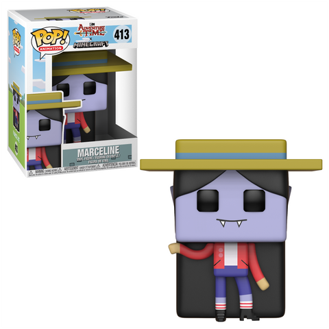 PRE-ORDER: Funko Pop! Television: Adventure Time Minecraft - Marceline #413 - CollectorZown