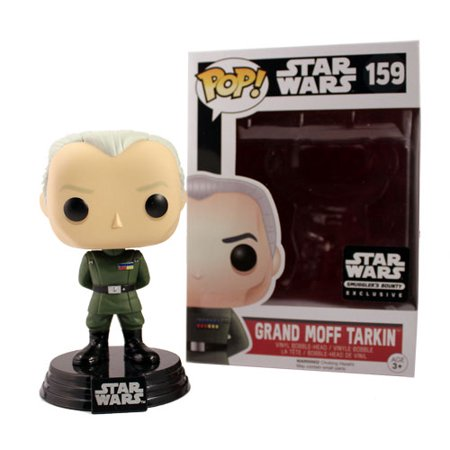 Funko Pop Star Wars: Grand Moff Tarkin #159 Smuggler's Bounty Exclusive - collectorzown