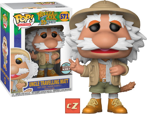 Funko Pop! Television Fraggle Rock Travelling Matt #571 Specialty Series *New In Box* - CollectorZown