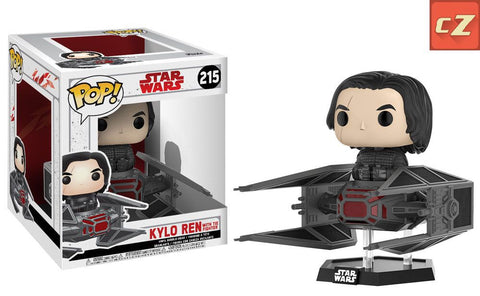 Funko Pop! Deluxe: Star Wars Kylo Ren in Tie Fighter #215 *New In Box* - collectorzown