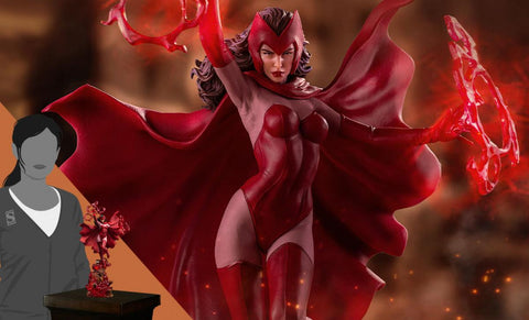 PRE-ORDER: Iron Studios Scarlet Witch 1:10 Scale Statue