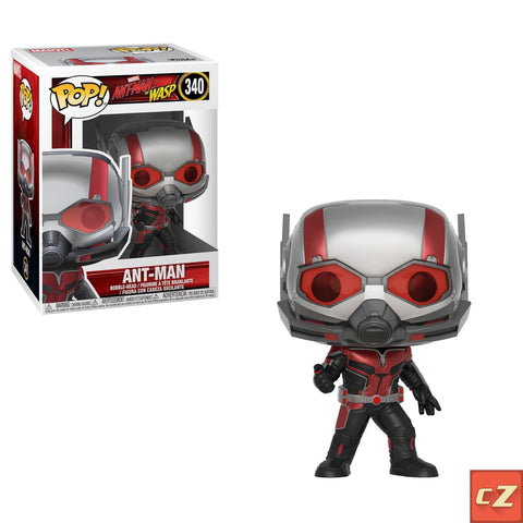 PRE-ORDER: Funko Pop! Marvel: Ant-Man & Wasp Ant-Man #340 - CollectorZown