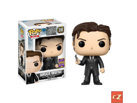 Funko Pop! Heroes: DC Justice League Bruce Wayne #200 Summer Convention Exclusive - collectorzown