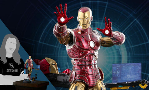 PRE-ORDER: Hot Toys Iron Man the Origins Collection (Deluxe) Sixth Scale Figure