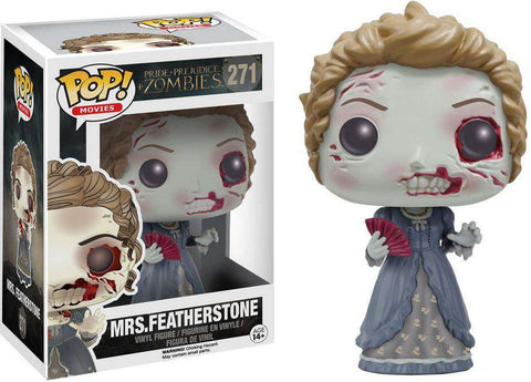 Funko Pop! Movies: Pride and Prejudice and Zombies - Mrs. Featherstone #271 Vaulted