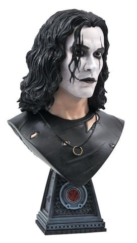 PRE-ORDER: Diamond Select The Crow Legends in 3D Crow 1:2 Scale Bust