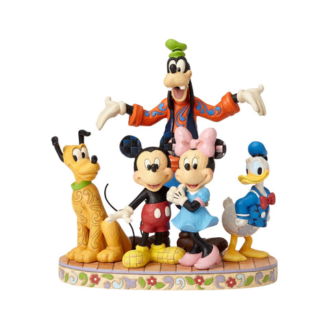 Enesco: Disney Traditions Fab Five The Gang is all Here Statue