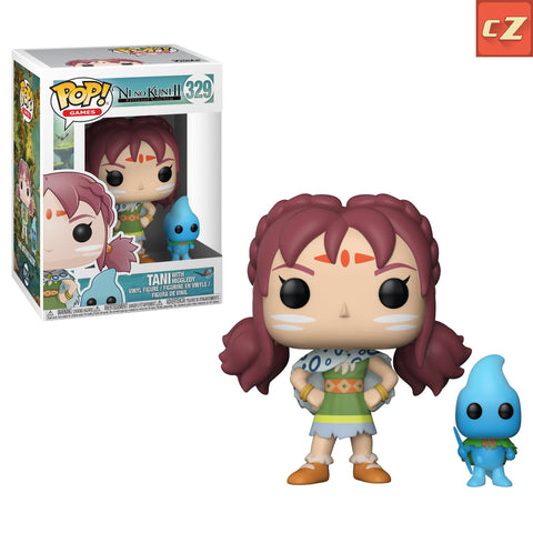 Funko Pop! Games: Ni No Kuni 2 Tani with Higgledy #329 - collectorzown