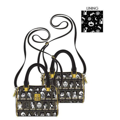 Loungefly Nightmare Before Christmas Tarot Card Crossbody Purse