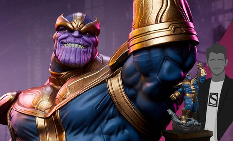 PRE-ORDER: Sideshow Collectibles Thanos (Modern Version) Statue