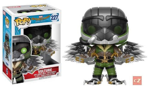 Funko Pop! Spider-Man Homecoming Vulture #227 *New In Box* - CollectorZown