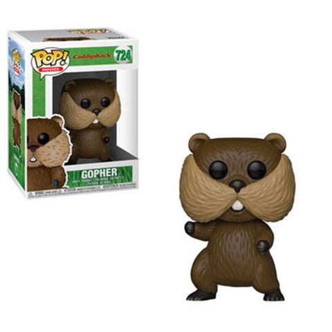 PRE-ORDER: Funko Pop! Movies: Caddyshack Gopher #724