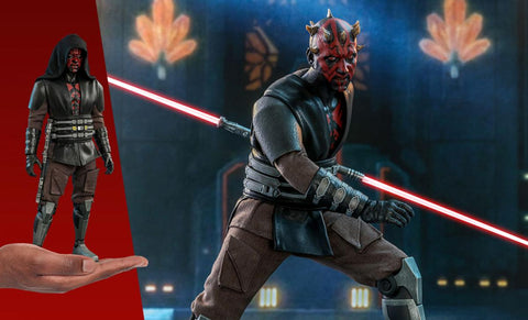 PRE-ORDER: Hot Toys Star Wars Darth Maul™ Sixth Scale Figure