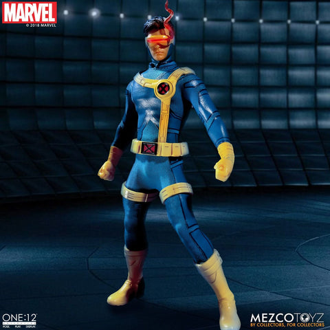 PRE-ORDER: Mezcotoyz Marvel X-Men Cyclops One:12 Action Figure