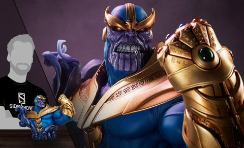 PRE-ORDER: Sideshow Collectibles Thanos Bust
