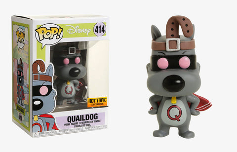 Funko Pop Cartoons: Quail dog 414 Hot Topic Exclusive - collectorzown