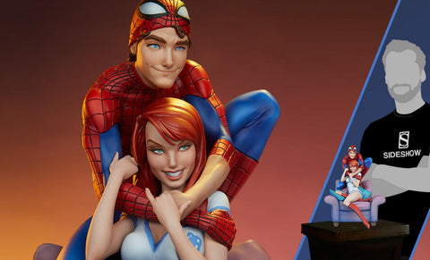 PRE-ORDER: Sideshow Collectibles Spider-Man & Mary Jane Maquette