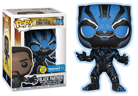 Funko Pop Marvel: Black Panther #273 GITD Walmart Exclusive - collectorzown