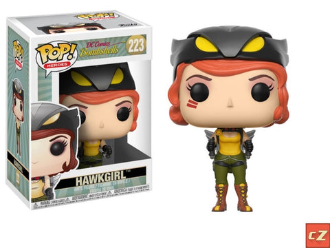 Funko Pop! Heroes: DC Bombshells Hawkgirl #223 *New In Box* - CollectorZown