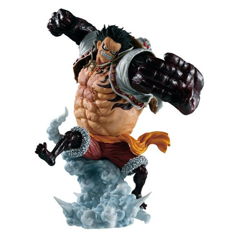 PRE-ORDER: Bandai Tamashii Nations One Piece Luffy Gear 4 Boundman Battle Memories Ichiban Statue