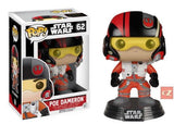 Funko Pop! Star Wars: The Force Awakens Poe Dameron #62 *New In Box* - CollectorZown