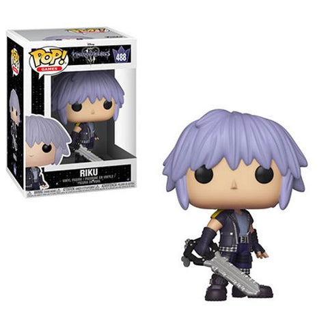 PRE-ORDER: Funko Pop! Games: Kingdom Hearts III Riku