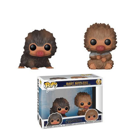 Funko Pop! Movies: Fantastic Beasts 2 Baby Nifflers (Brown & Tan) 2 Pack