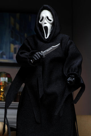 NECA Scream Ghostface 8 Inch Clothed Figure