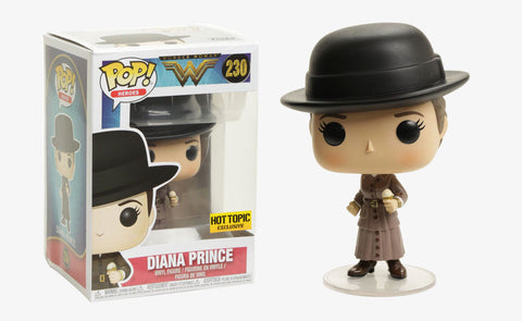 Funko Pop DC: Wonder Woman Diana Prince #230 Hot Topic Exclusive - collectorzown