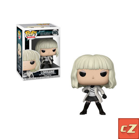 Funko Pop! Movies: Atomic Blonde Lorraine w/Coat #565 *New In Box* - CollectorZown