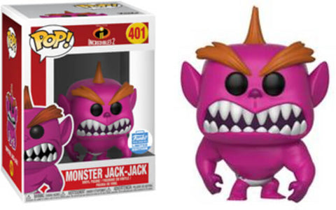 Funko Pop Movies: Incredibles 2 Monster Jack #401 Funko Shop Exclusive - collectorzown