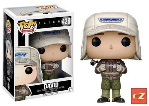 Funko Pop! Movies Alien Covenant David #428 *New In Box* - CollectorZown