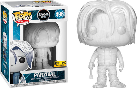 Funko Pop! Movies: Ready Player One - Parzival #496 Hot Topic Exclusive