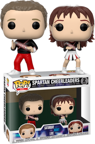 Funko Pop! Television: SNL: Spartan Cheerleaders 2-Pack