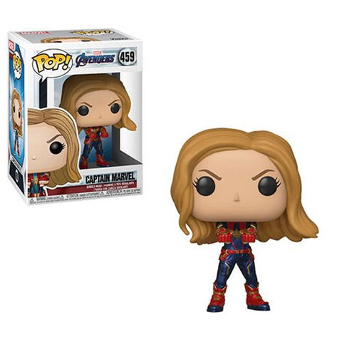 PRE-ORDER: Funko Pop! Marvel: Avengers Endgame Captain Marvel #459