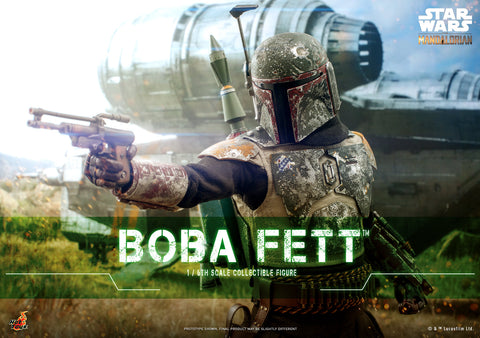 PRE-ORDER: Hot Toys Star Wars The Mandalorian Boba Fett Sixth Scale Figure