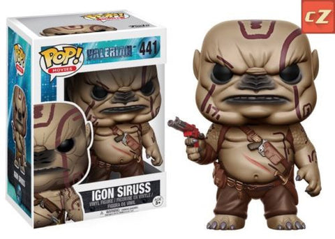 Funko Pop! Movies: Valerian Igon Siruss #441 *New In Box* - collectorzown