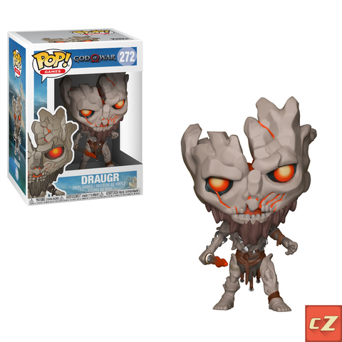 Funko Pop! Games: God Of War Draugr #272 *New In Box* - collectorzown