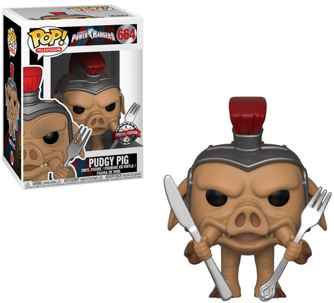Funko Pop! Television: Power Rangers Pudgy Pig #664 Gamestop Exclusive