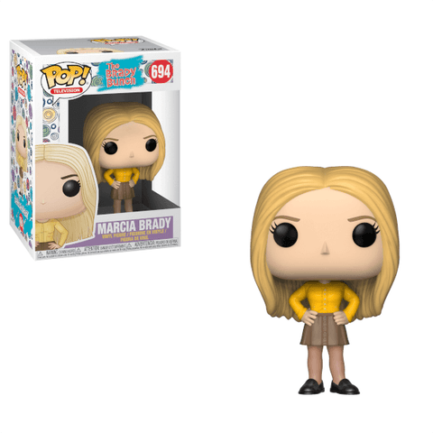 Funko Pop! Television: The Brady Bunch Marcia Brady #694