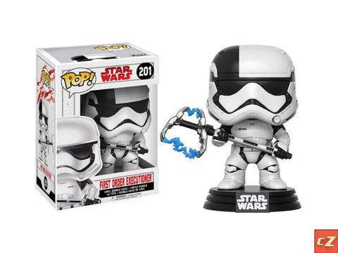 Funko Pop! Star Wars: The Last Jedi First Order Executioner #201 *New In Box*